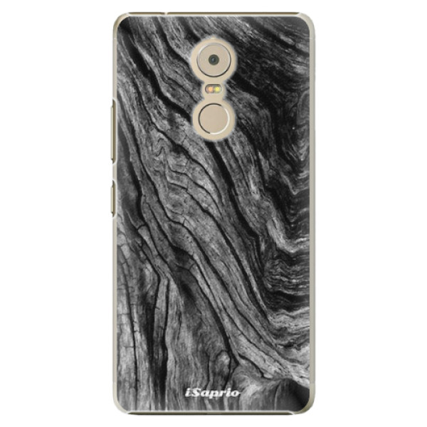 Plastové pouzdro iSaprio - Burned Wood - Lenovo K6 Note