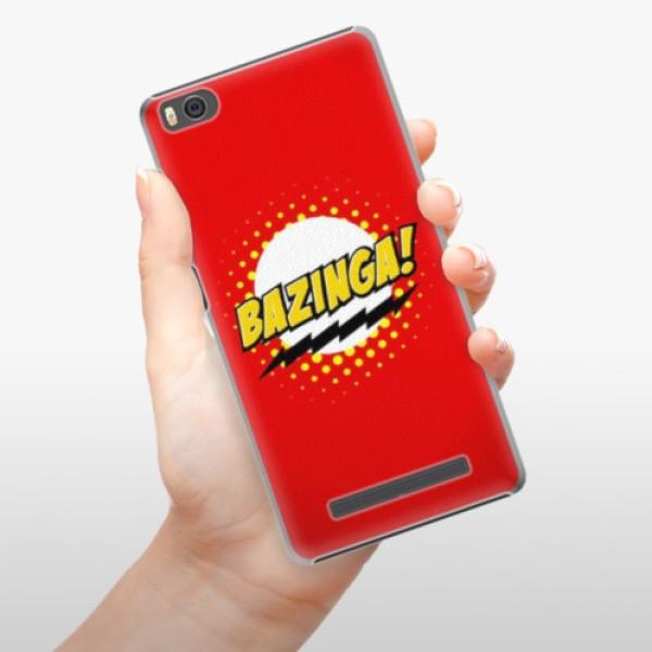 Plastové pouzdro iSaprio - Bazinga 01 - Xiaomi Mi4C