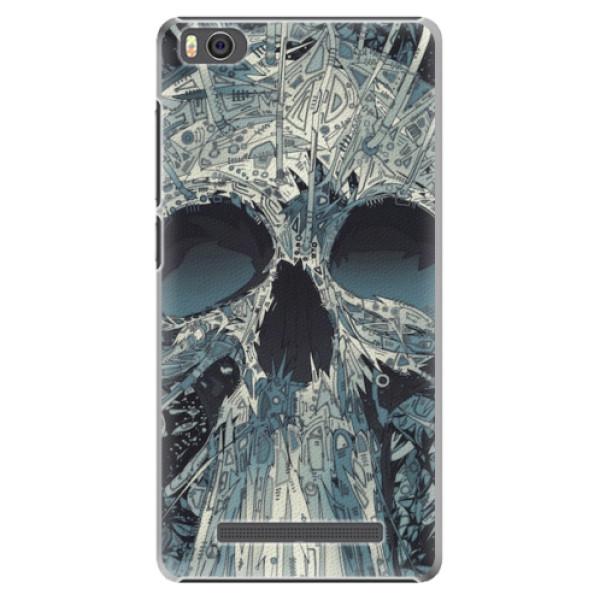 Plastové pouzdro iSaprio - Abstract Skull - Xiaomi Mi4C