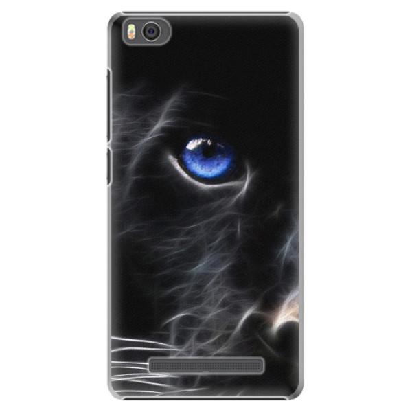Plastové pouzdro iSaprio - Black Puma - Xiaomi Mi4C