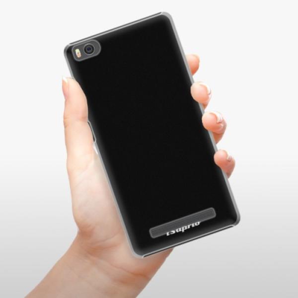 Plastové pouzdro iSaprio - 4Pure - černý - Xiaomi Mi4C