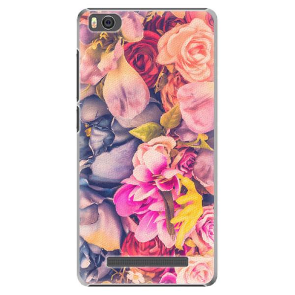 Plastové pouzdro iSaprio - Beauty Flowers - Xiaomi Mi4C