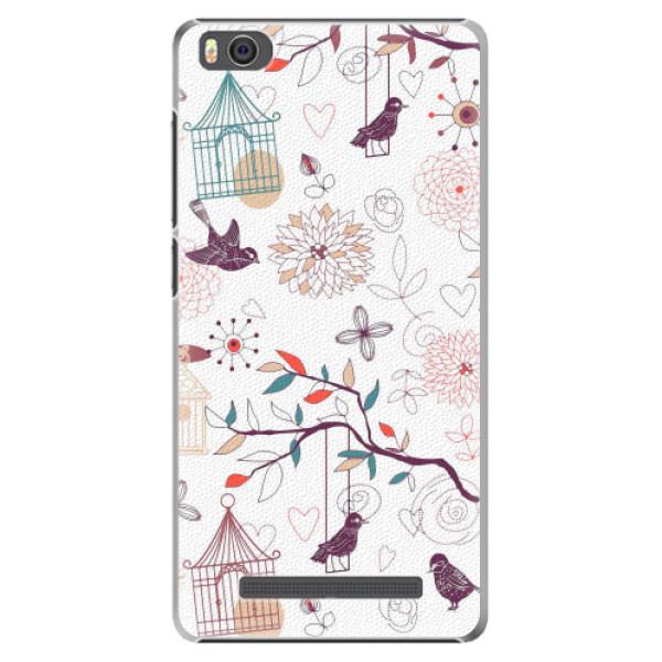 Plastové pouzdro iSaprio - Birds - Xiaomi Mi4C