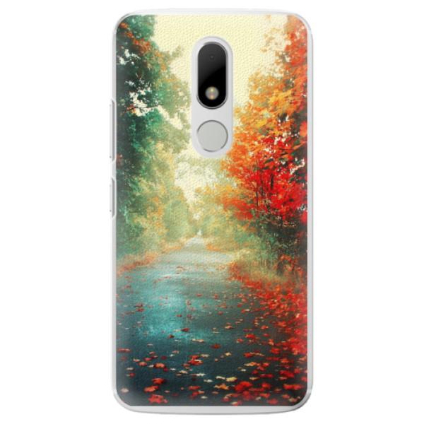 Plastové pouzdro iSaprio - Autumn 03 - Lenovo Moto M