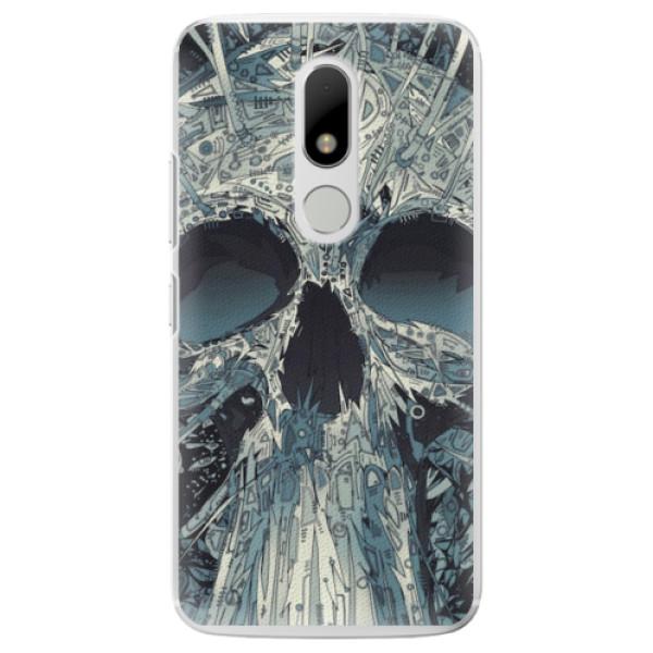 Plastové pouzdro iSaprio - Abstract Skull - Lenovo Moto M