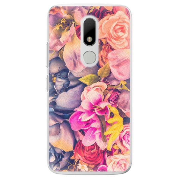 Plastové pouzdro iSaprio - Beauty Flowers - Lenovo Moto M