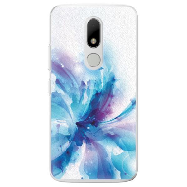 Plastové pouzdro iSaprio - Abstract Flower - Lenovo Moto M