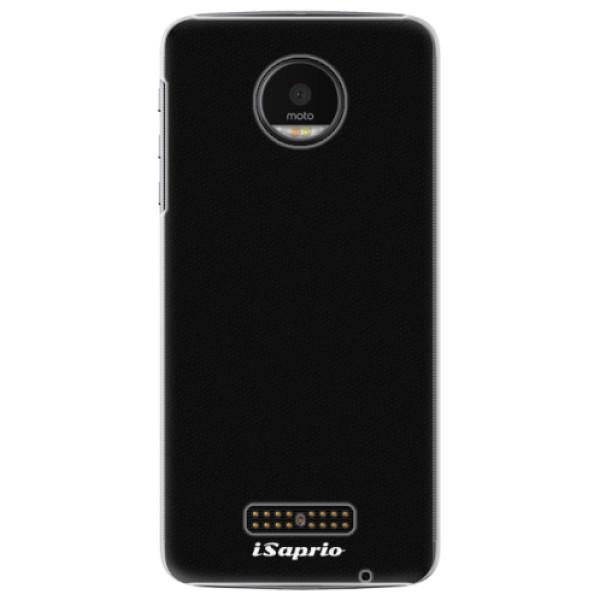 Plastové pouzdro iSaprio - 4Pure - černý - Lenovo Moto Z
