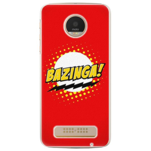 Plastové pouzdro iSaprio - Bazinga 01 - Lenovo Moto Z Play