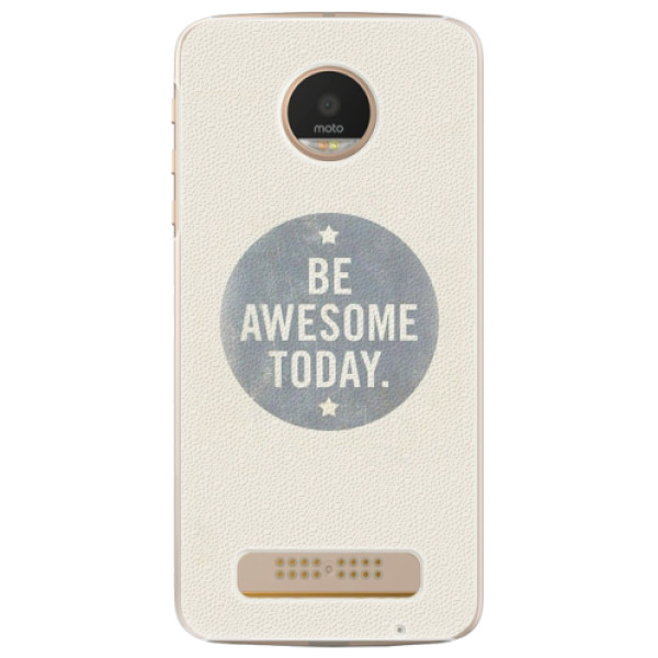 Plastové pouzdro iSaprio - Awesome 02 - Lenovo Moto Z Play