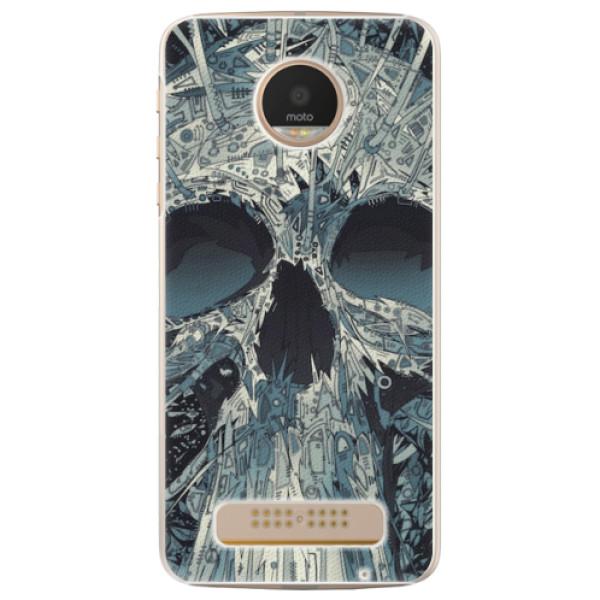 Plastové pouzdro iSaprio - Abstract Skull - Lenovo Moto Z Play