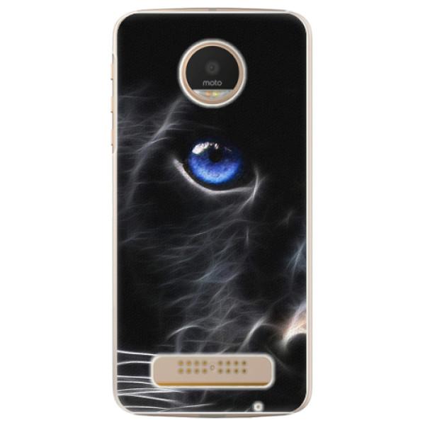 Plastové pouzdro iSaprio - Black Puma - Lenovo Moto Z Play