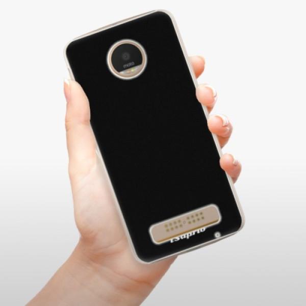 Plastové pouzdro iSaprio - 4Pure - černý - Lenovo Moto Z Play