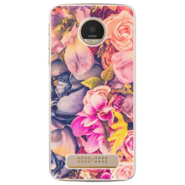 Plastové pouzdro iSaprio - Beauty Flowers - Lenovo Moto Z Play