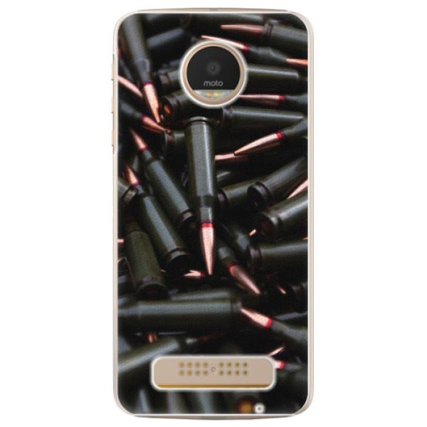 Plastové pouzdro iSaprio - Black Bullet - Lenovo Moto Z Play