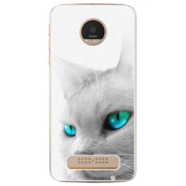 Plastové pouzdro iSaprio - Cats Eyes - Lenovo Moto Z Play