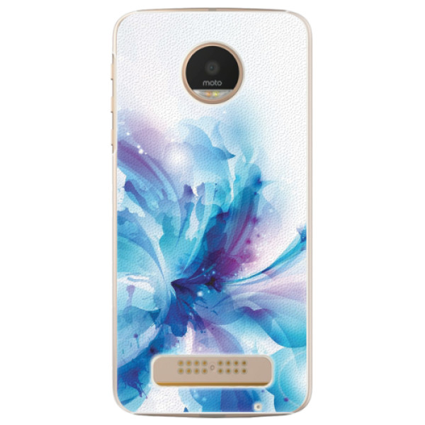 Plastové pouzdro iSaprio - Abstract Flower - Lenovo Moto Z Play