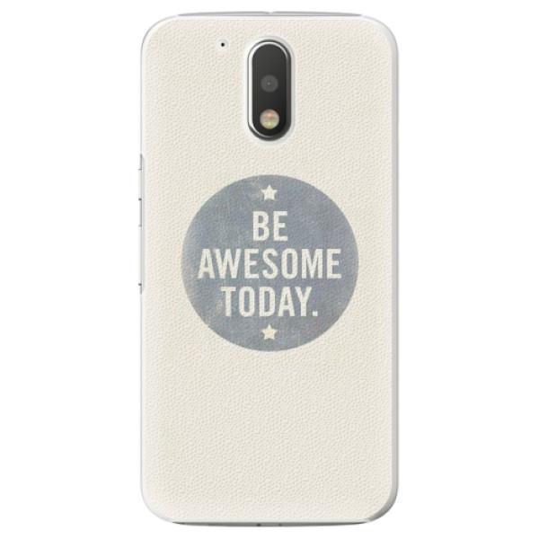 Plastové pouzdro iSaprio - Awesome 02 - Lenovo Moto G4 / G4 Plus