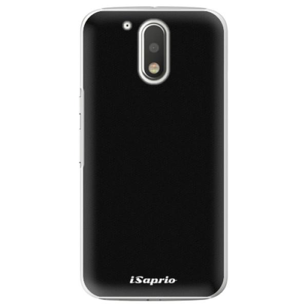 Plastové pouzdro iSaprio - 4Pure - černý - Lenovo Moto G4 / G4 Plus