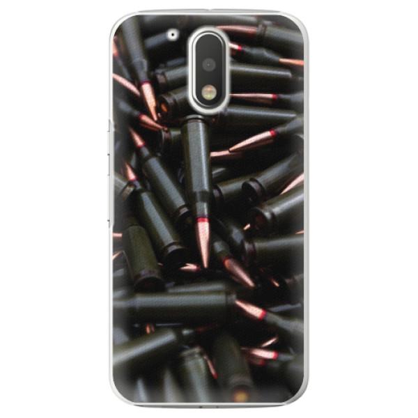 Plastové pouzdro iSaprio - Black Bullet - Lenovo Moto G4 / G4 Plus