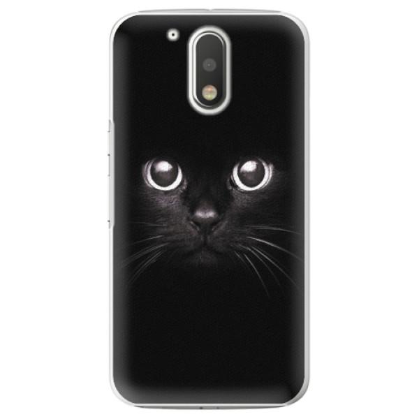 Plastové pouzdro iSaprio - Black Cat - Lenovo Moto G4 / G4 Plus