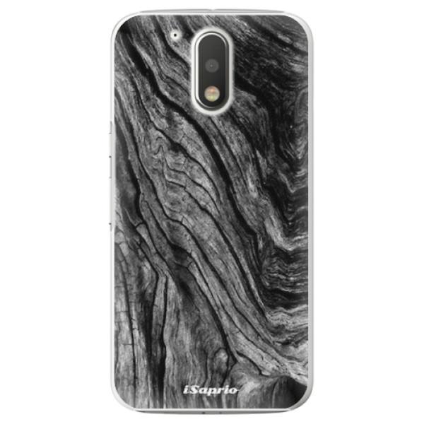 Plastové pouzdro iSaprio - Burned Wood - Lenovo Moto G4 / G4 Plus
