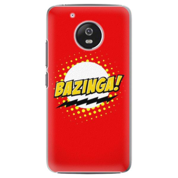 Plastové pouzdro iSaprio - Bazinga 01 - Lenovo Moto G5