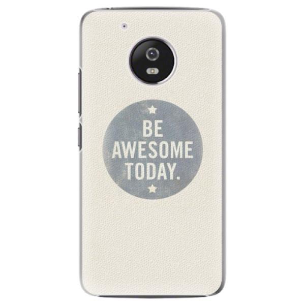 Plastové pouzdro iSaprio - Awesome 02 - Lenovo Moto G5