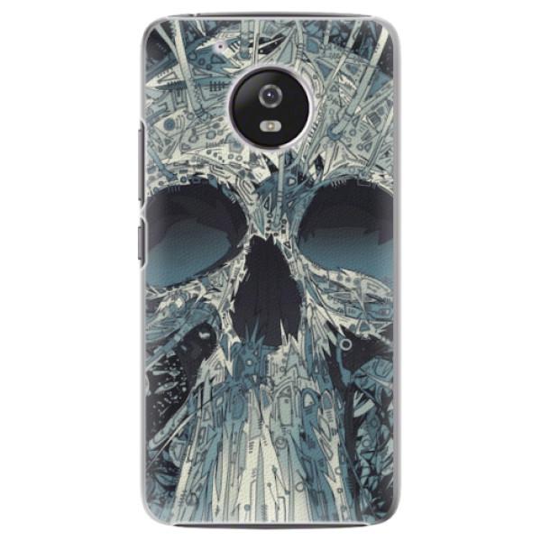 Plastové pouzdro iSaprio - Abstract Skull - Lenovo Moto G5