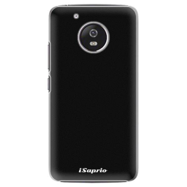 Plastové pouzdro iSaprio - 4Pure - černý - Lenovo Moto G5