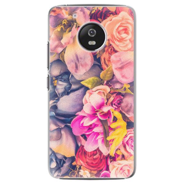 Plastové pouzdro iSaprio - Beauty Flowers - Lenovo Moto G5