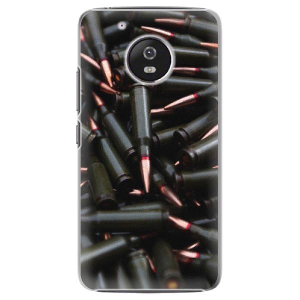 Plastové pouzdro iSaprio - Black Bullet - Lenovo Moto G5