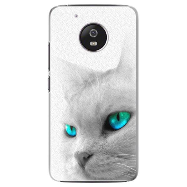 Plastové pouzdro iSaprio - Cats Eyes - Lenovo Moto G5