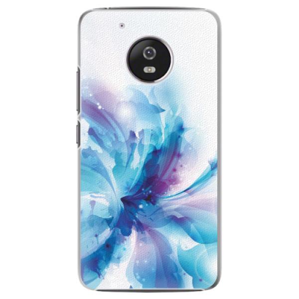 Plastové pouzdro iSaprio - Abstract Flower - Lenovo Moto G5