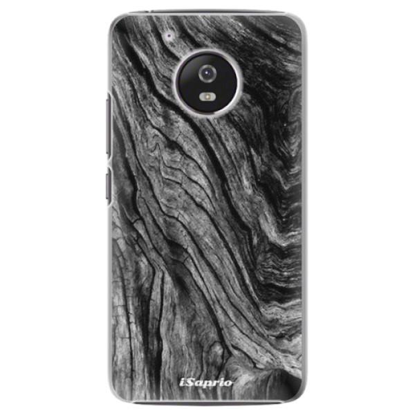 Plastové pouzdro iSaprio - Burned Wood - Lenovo Moto G5