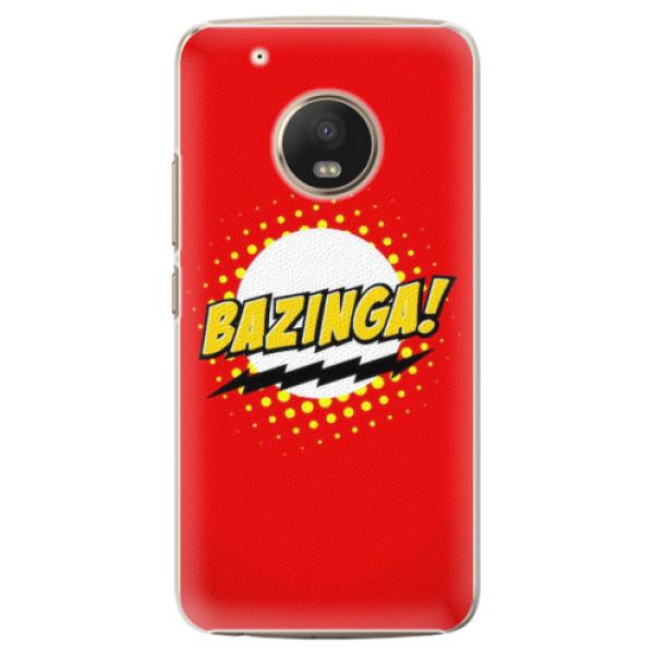 Plastové pouzdro iSaprio - Bazinga 01 - Lenovo Moto G5 Plus