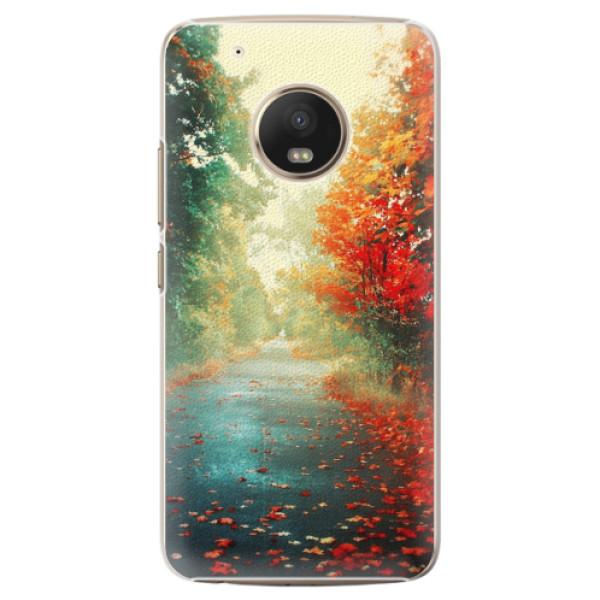 Plastové pouzdro iSaprio - Autumn 03 - Lenovo Moto G5 Plus