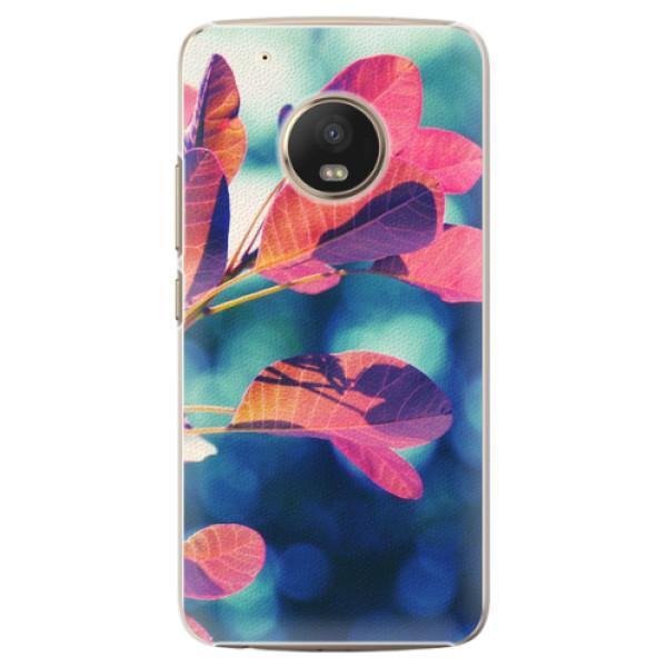 Plastové pouzdro iSaprio - Autumn 01 - Lenovo Moto G5 Plus