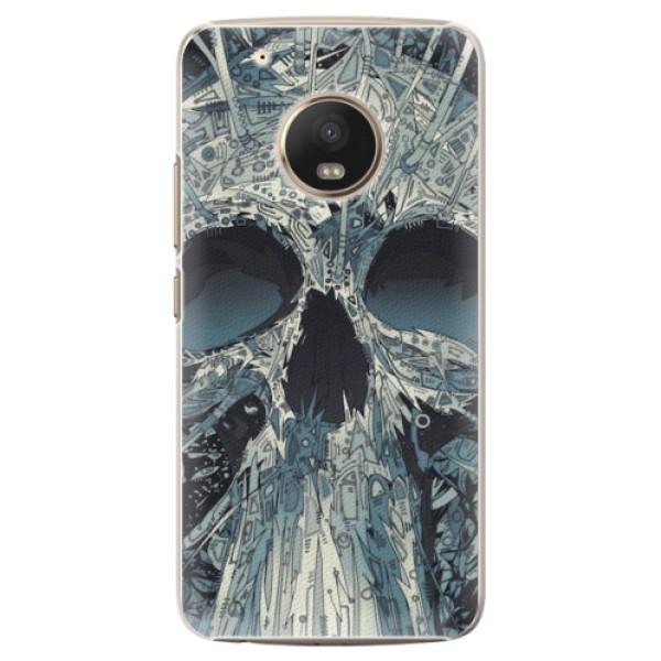 Plastové pouzdro iSaprio - Abstract Skull - Lenovo Moto G5 Plus