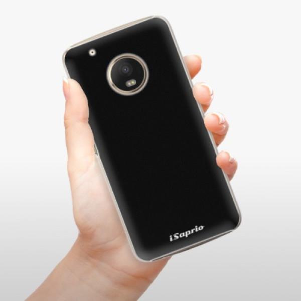 Plastové pouzdro iSaprio - 4Pure - černý - Lenovo Moto G5 Plus
