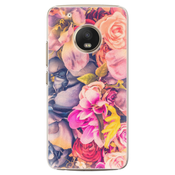 Plastové pouzdro iSaprio - Beauty Flowers - Lenovo Moto G5 Plus