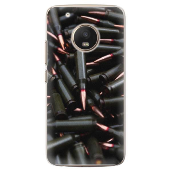 Plastové pouzdro iSaprio - Black Bullet - Lenovo Moto G5 Plus