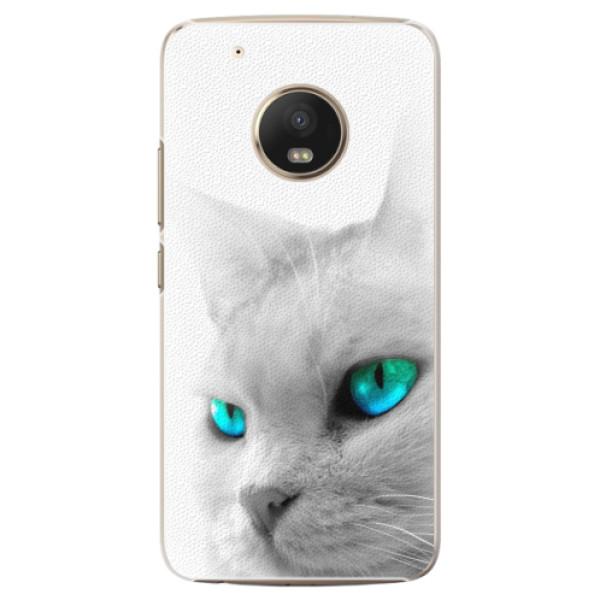 Plastové pouzdro iSaprio - Cats Eyes - Lenovo Moto G5 Plus
