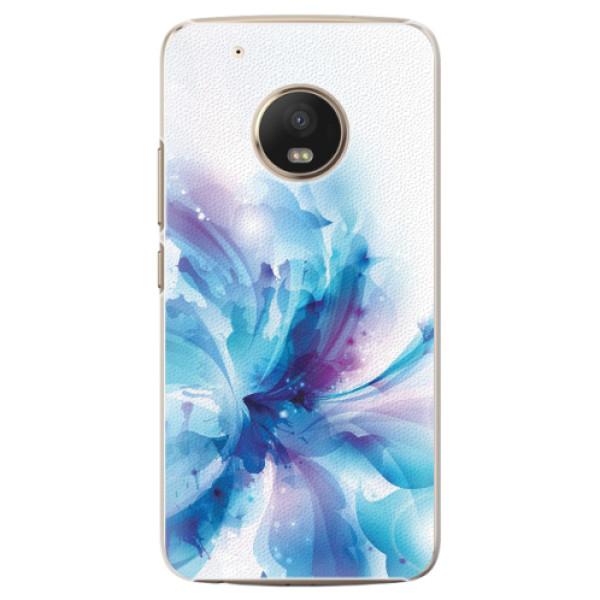 Plastové pouzdro iSaprio - Abstract Flower - Lenovo Moto G5 Plus