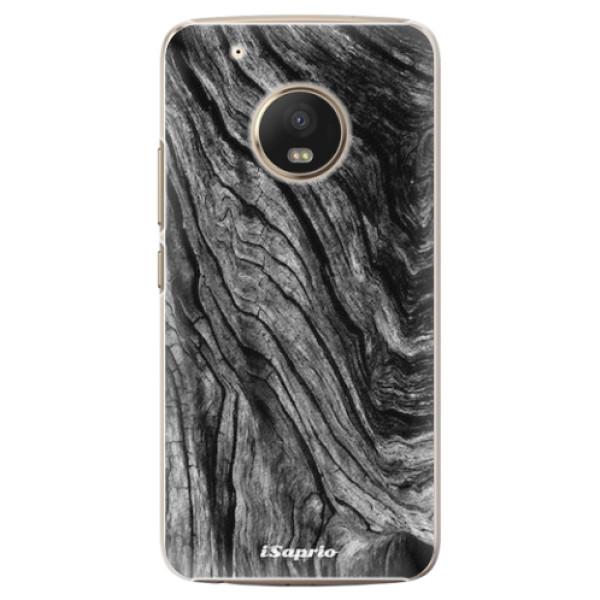 Plastové pouzdro iSaprio - Burned Wood - Lenovo Moto G5 Plus