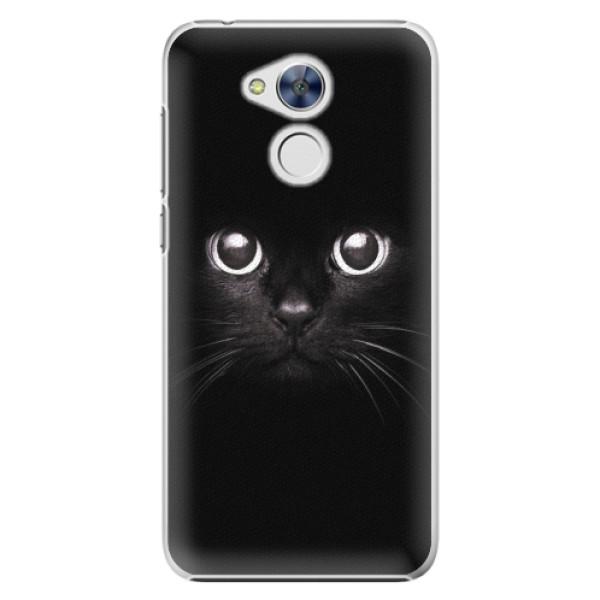 Plastové pouzdro iSaprio - Black Cat - Huawei Honor 6A