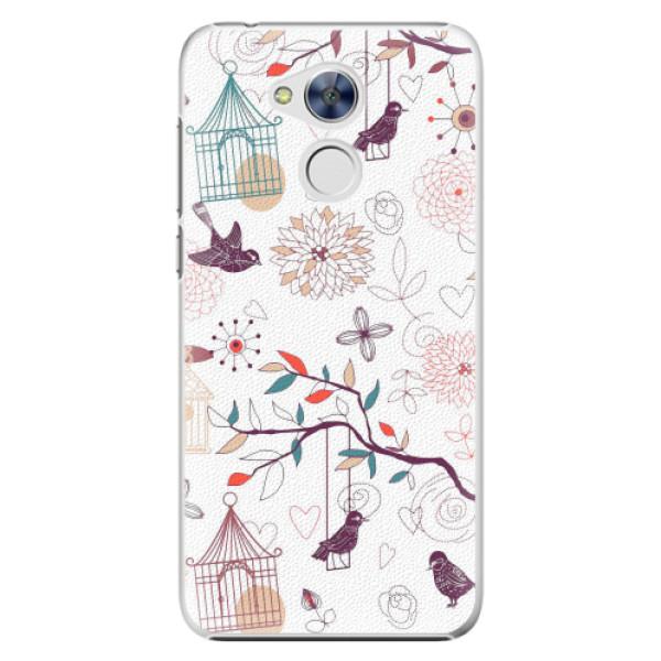 Plastové pouzdro iSaprio - Birds - Huawei Honor 6A