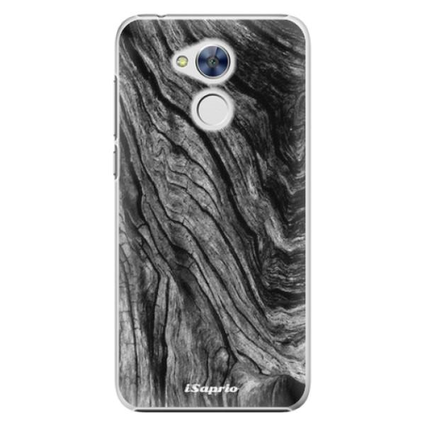 Plastové pouzdro iSaprio - Burned Wood - Huawei Honor 6A