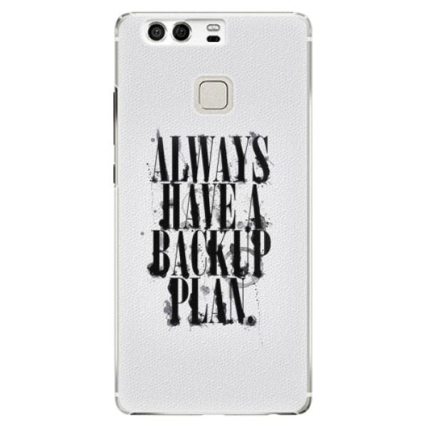Plastové pouzdro iSaprio - Backup Plan - Huawei P9
