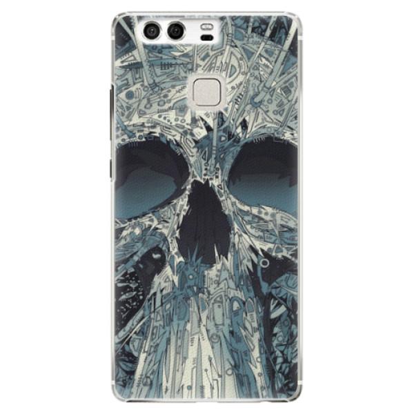 Plastové pouzdro iSaprio - Abstract Skull - Huawei P9